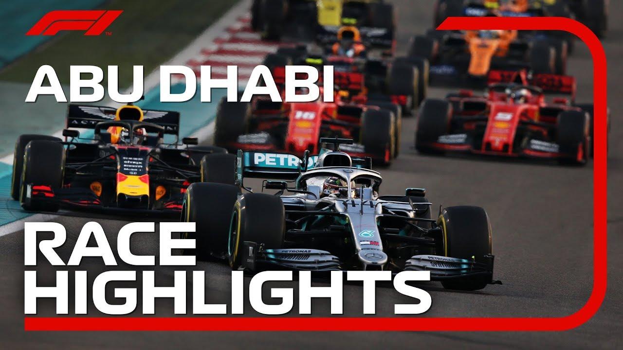 2019 Abu Dhabi Grand Prix Race Highlights Youtube