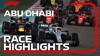 2019 Abu Dhabi Grand Prix: Race Highlights Video