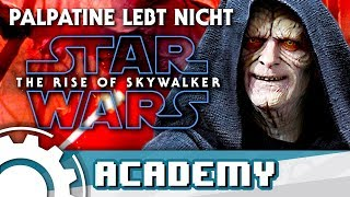 STAR WARS: The Rise of Skywalker - Palpatine lebt NICHT! [FAN THEORIE]