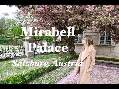 Mirabell Palace Video - Sound of Music Film Set in Salzburg,