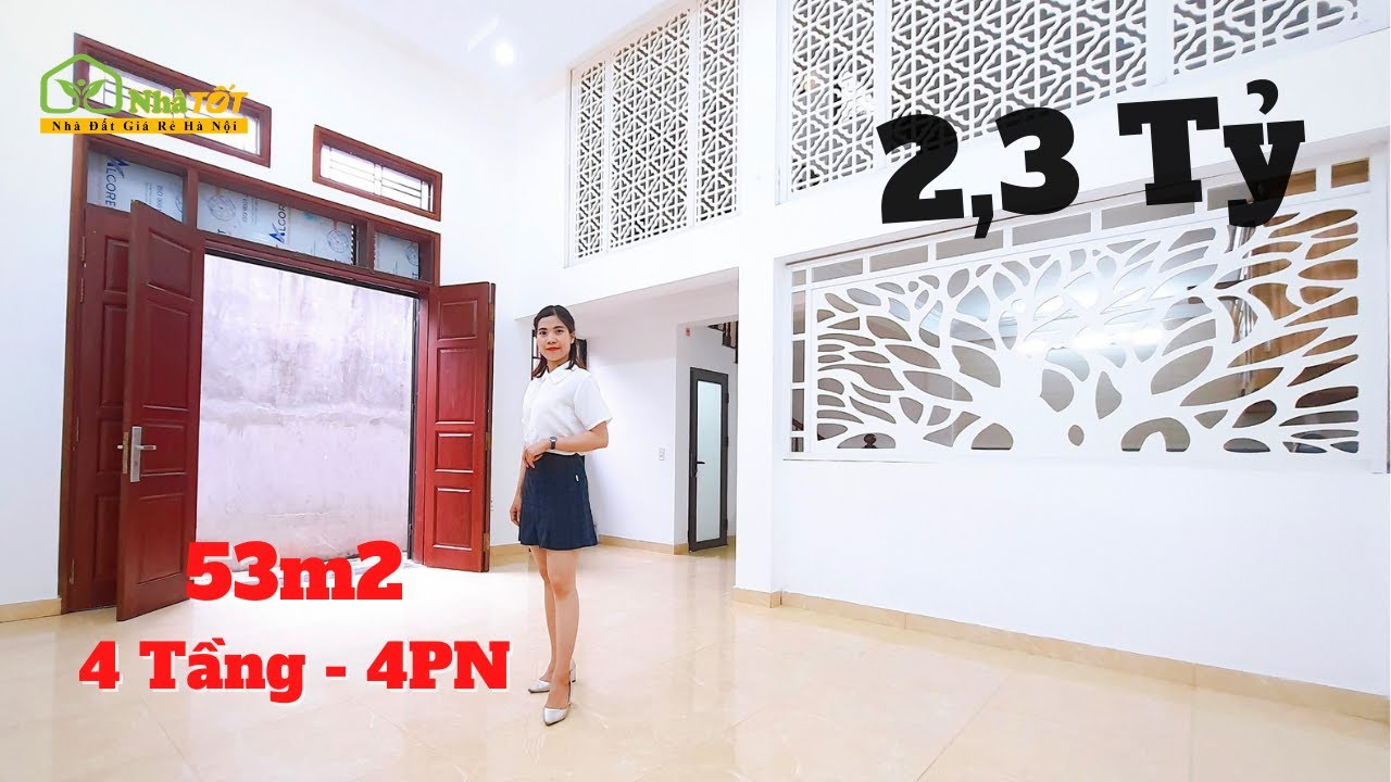 image Bán Nhà 53m2 - 4 Tầng + Gác Lửng, Yên Nghĩa, Hà Đông, Hà Nội   nhà TỐT