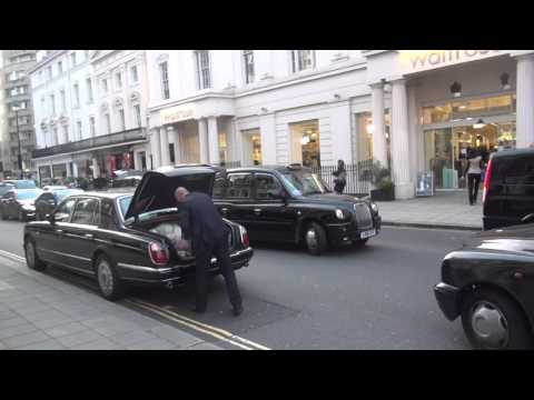 Lord Mayor of London illegally parked