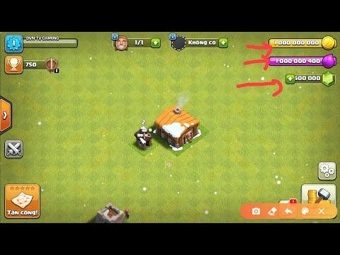 cách hack kim cương trong clash of clan - Hướng dẫn tải clash of clans hack mới nhất 2020 | NVD TV GAMING