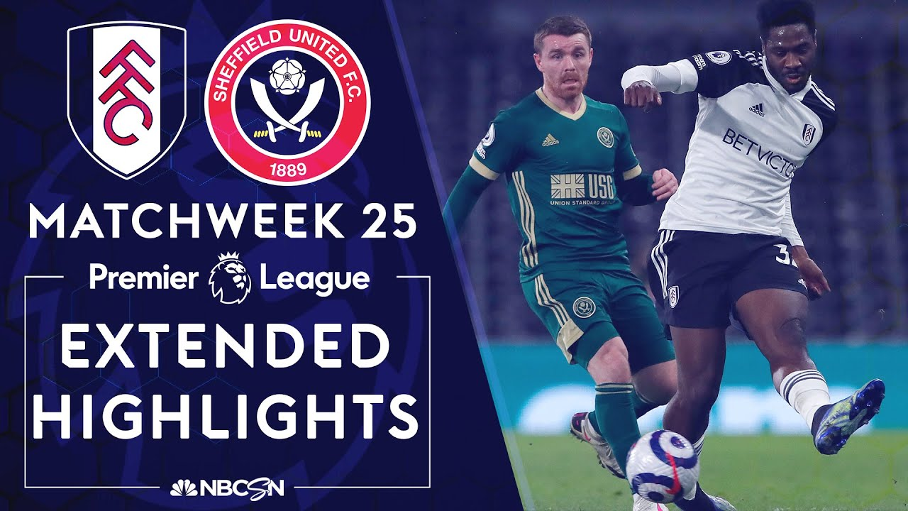 Fulham v. Sheffield United | PREMIER LEAGUE HIGHLIGHTS | 2/20/2021 | NBC Sports