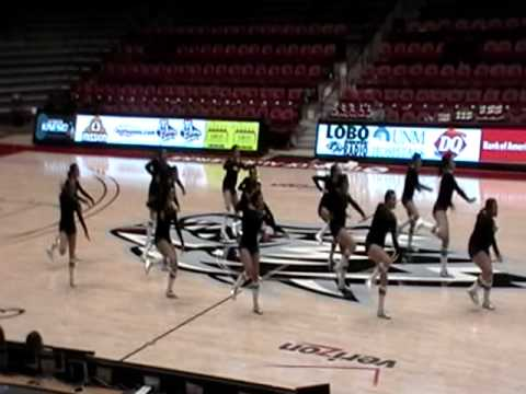 New Mexico Stars Dance Center perform at UNM Spirit Fest 2010