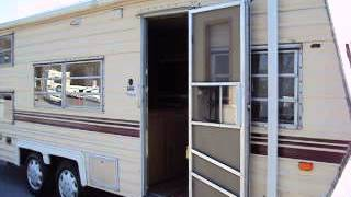 Coachman Crusader Travel Trailer Clean Everything Works 10-31-12