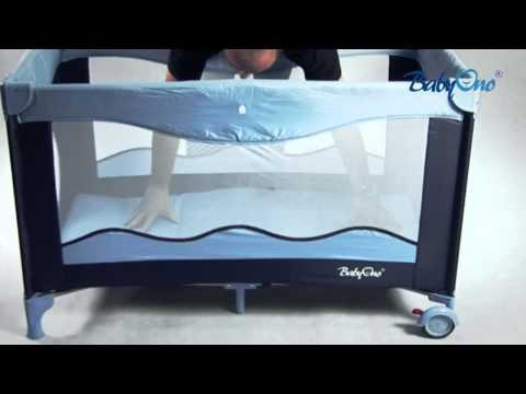 Как разобрать кровать манеж