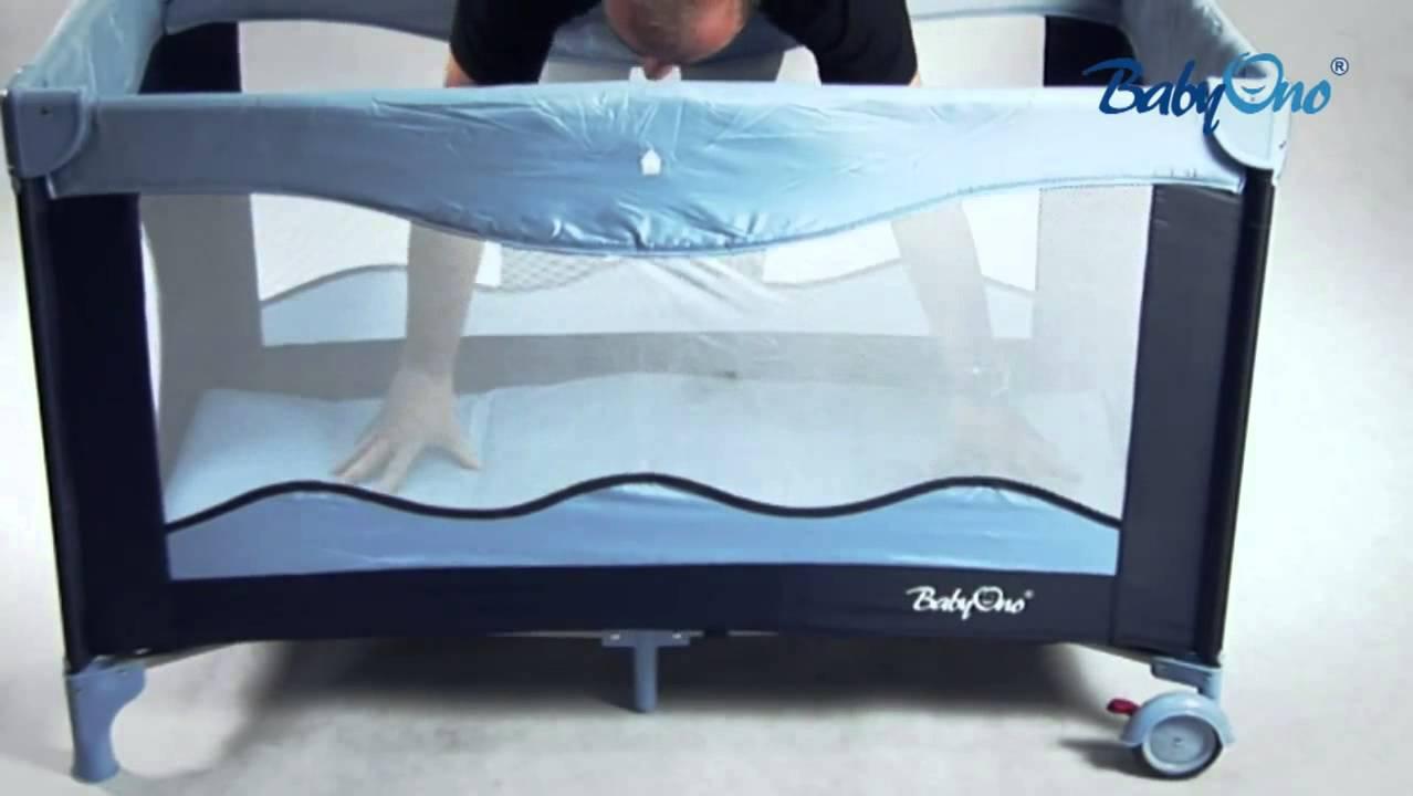 Инструкция кроватка манеж