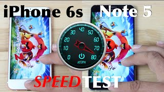 iPhone 6s vs Galaxy Note 5 Speed Test!