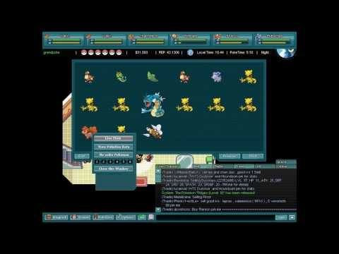 Pokemon World Online - Aprendendo Trocas