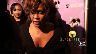 Whitney Houston's last Red Carpet, R.I.P   54th Grammy Awards
