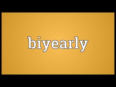 Header of biyearly