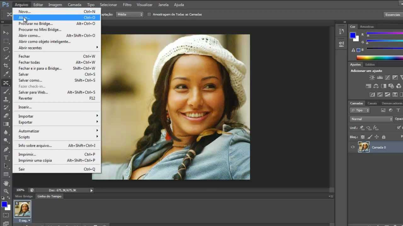 Nova Ferramenta Do Photoshop Cs6 Arrastar Objeto Na Imagem Tirar