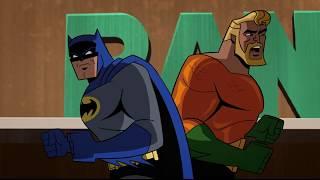 Бэтмен,Аквамен и Вопрос против Загадочника,Женщины Кошки и Убийцы Крока