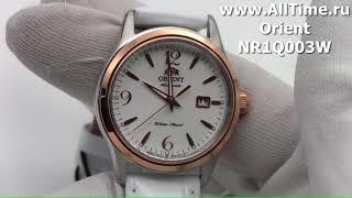 Обзор. Женские механические наручные часы Orient NR1Q003W