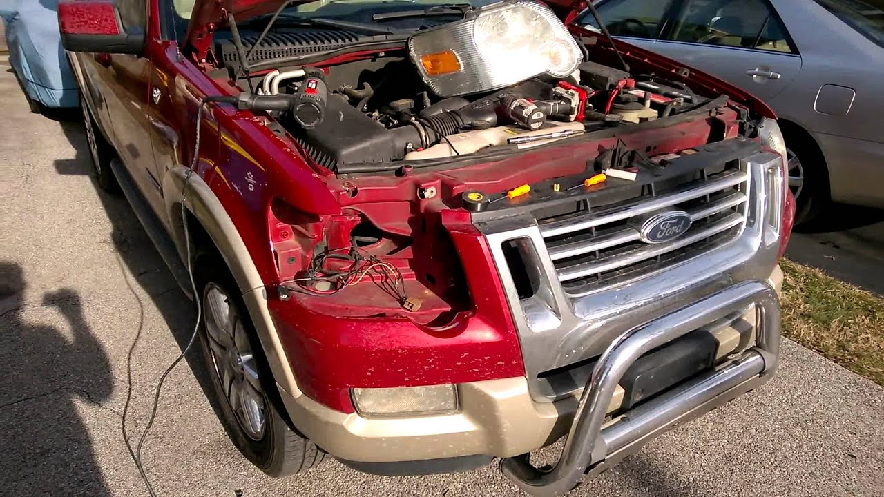 2010 Ford Explorer Eddie Bauer - Wiring Fixes Commence!! - YouTube [ 720 x 1280 Pixel ]
