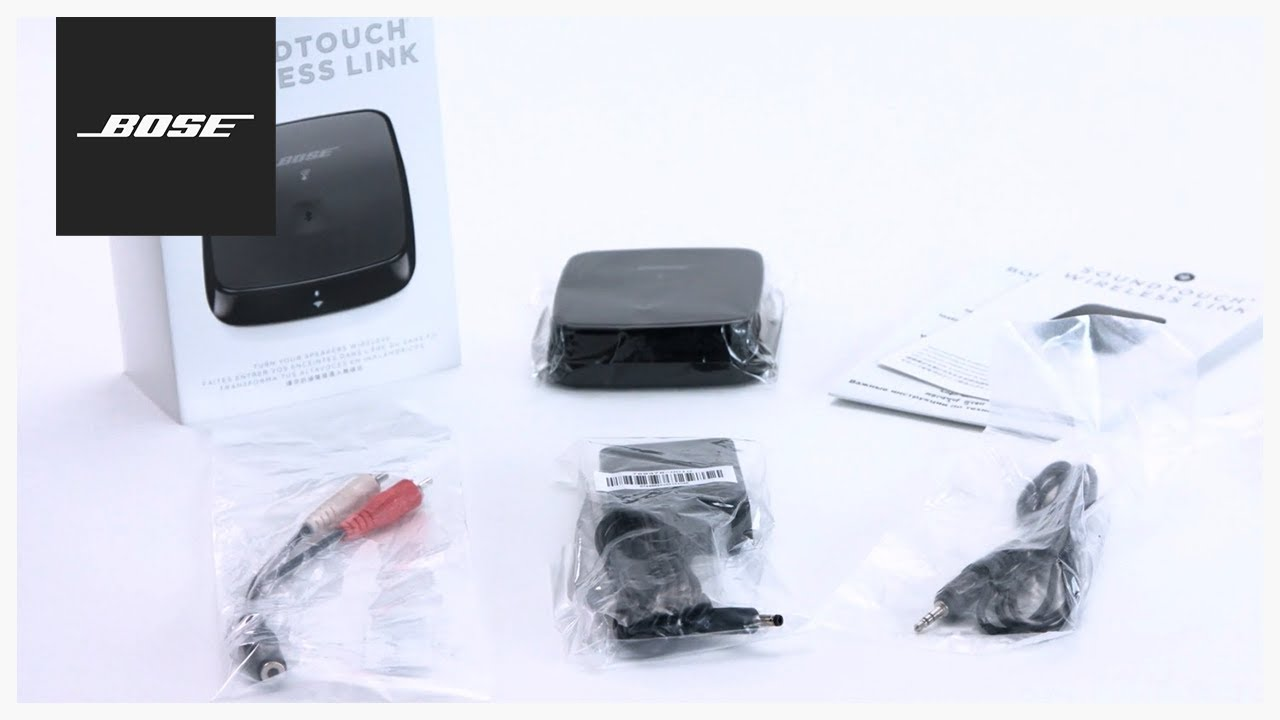 bose soundtouch wireless link unboxing setup [ 1280 x 720 Pixel ]