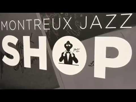 Devanture Montreux Jazz Shop Airport GE - Publicity Shop