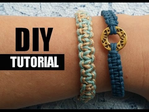 Super Armbandjes Knopen Video Tutorial - YouTube @EF62
