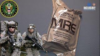 ИРП Армии США меню 9 MRE MENU 9 BEEF STEW USA ARMY