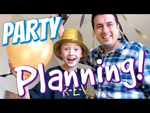 Planning Jacob's 10th Birthday Party!