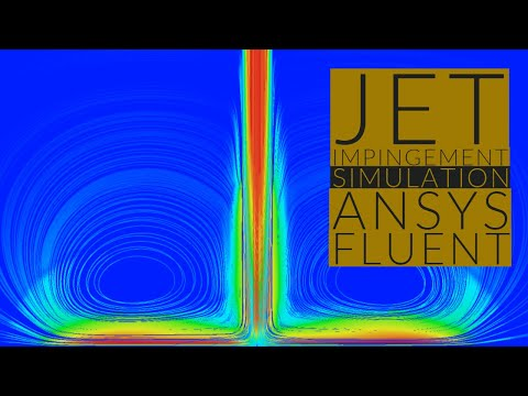 Simulating a Jet Impingement in ANSYS Fluent using Eulerian Multiphase model