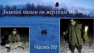 Зимний налим на жерлицы и удочку / III часть / Winter burbot  / III part