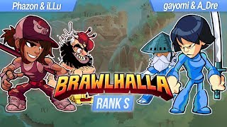Phazon - WHO ARE THESE GUYS? - Rank S 2v2 Brawlhalla