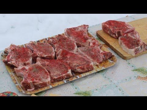 Вопрос: Как готовить свиную шейку на кости?