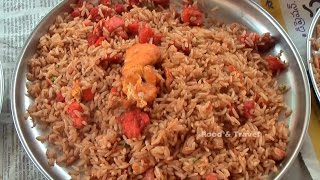 Indo-chinese Egg Fried Rice |  Street Food Fast Food In India | Egg Friderice