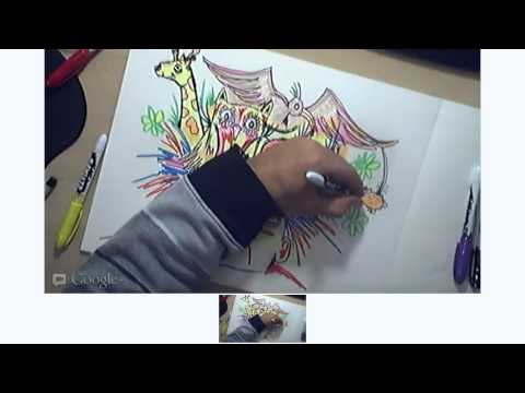 Live Drawing with RAEART YOUTUBE streaming video