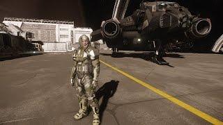 AEGIS Vanguard warden tour and combat 4k