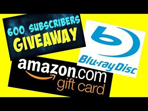 Mega 600 Subscriber Giveaway!