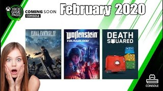 Xbox Game Pass February 2020 New Games & What's Leaving The Service
