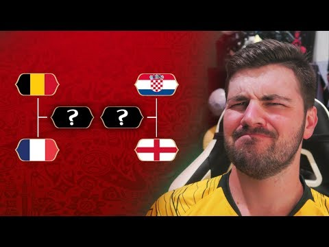UPDATING THE UPDATE TO MY UPDATED 2018 WORLD CUP PREDICTIONS!!!