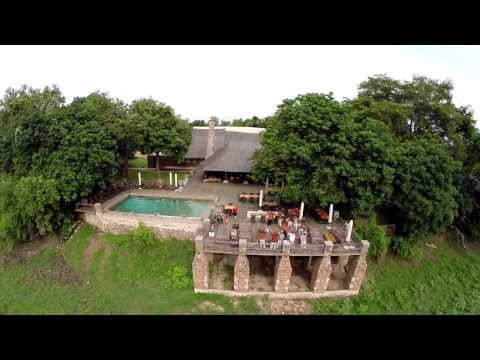 Aerial View of Mfuwe Lodge - South Luangwa National Park