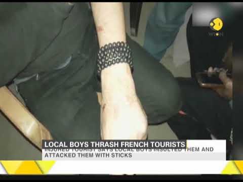 Uttar Pradesh: Local boys thrash French tourists