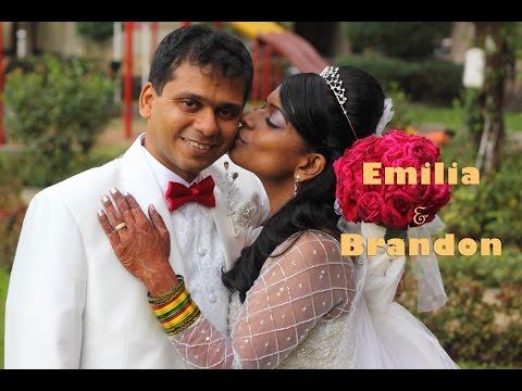 A wedding highlight video of Brandon & Emilia @ Mount Mary church, Bandra
