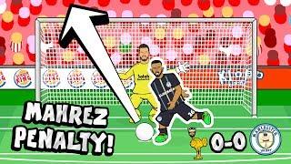 ⚽️⬆️RIYAD MAHREZ PENALTY FAIL!⬆️⚽️ What happened to the ball?
