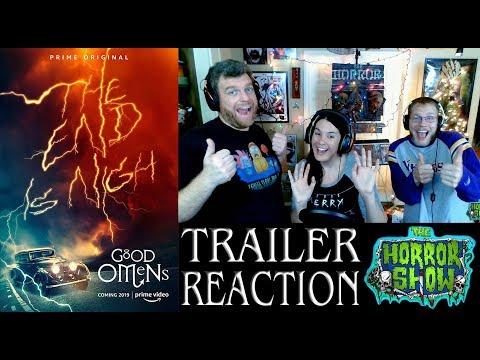 """Good Omens"" 2019 TV Series Trailer Reaction - The Horror Show"