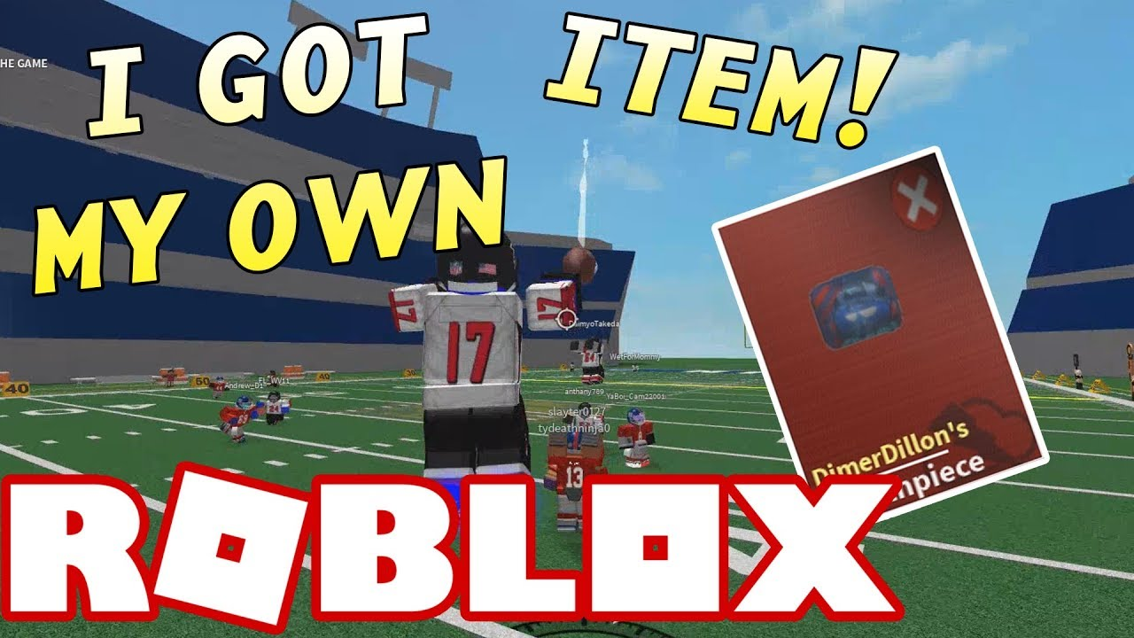I Got My Own Card Roblox Nfl Funny Moments 2 Youtube