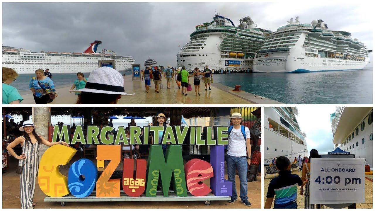 Cozumel Cruise Port  International Pier Terminal For Royal Caribbean