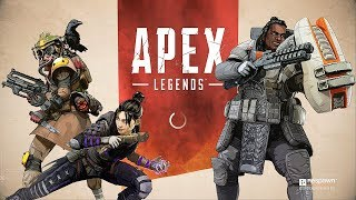 Apex Legends  - My First Match - Second Place! PS4 Pro Gameplay PL