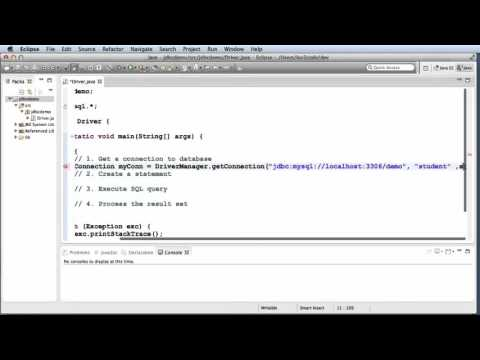 Java JDBC Tutorial   Part 1  Connect to MySQL database with Java   YouTube