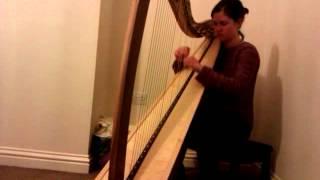 Harp - 'I Giorni' by Einaudi - Jessica Wright, harpist