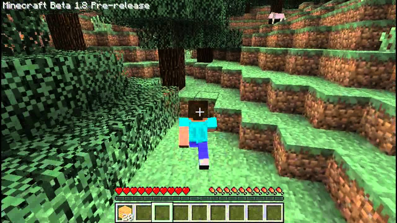 Minecraft Beta 1.8 Pre Release First Looks - YouTube