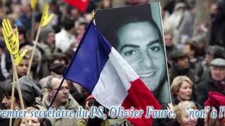 Rassemblement contre l'antisémitisme à Avallon