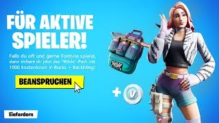 The new free STARTER PACK in Fortnite! (Wild Skin)