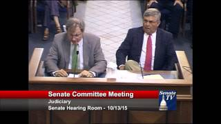 Senator Green and Dr. Lott testify in support of SB 442
