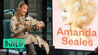 "Amanda Seales Details Her New Self-Help Book, ""Small Doses"""